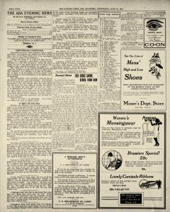 Ada Evening News, June 25, 1919, Page 4