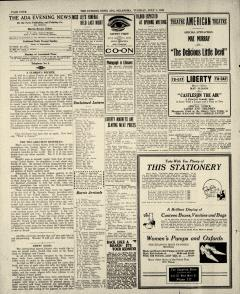 Ada Evening News, July 01, 1919, Page 4