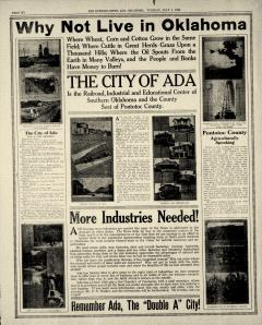 Ada Evening News, July 01, 1919, Page 6