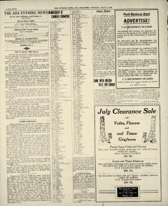 Ada Evening News, July 08, 1919, Page 4