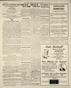 Ada Evening News, July 09, 1919, Page 4