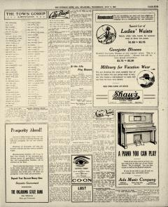 Ada Evening News, July 09, 1919, Page 5