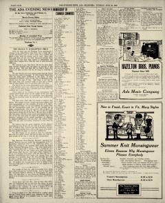 Ada Evening News, July 15, 1919, Page 4