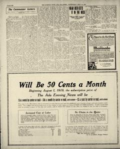 Ada Evening News, July 16, 1919, Page 6