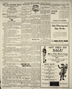 Ada Evening News, July 24, 1919, Page 4