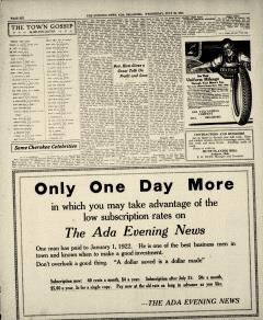 Ada Evening News, July 30, 1919, Page 6