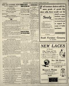 Ada Evening News, August 02, 1919, Page 4