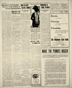 Ada Evening News, August 18, 1919, p. 2