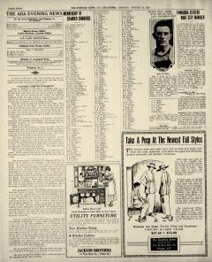Ada Evening News, August 18, 1919, p. 4