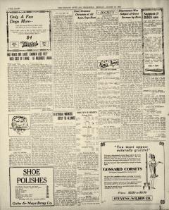 Ada Evening News, August 18, 1919, p. 8