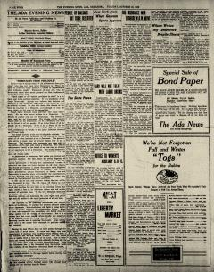 Ada Evening News, October 21, 1919, Page 5