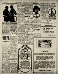 Ada Evening News, October 24, 1919, Page 2