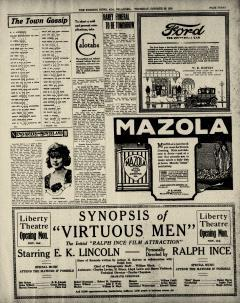 Ada Evening News, October 30, 1919, Page 3