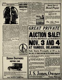 Ada Evening News, October 31, 1919, Page 6