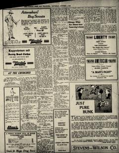Ada Evening News, November 05, 1919, Page 6