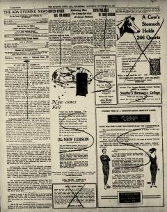 Ada Evening News, November 15, 1919, Page 5