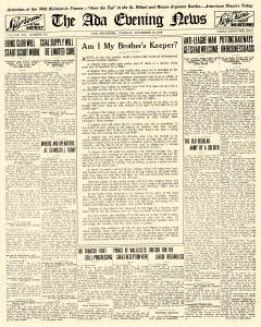 Ada Evening News, November 18, 1919, Page 8