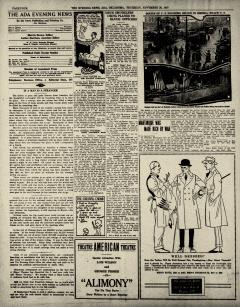 Ada Evening News, November 20, 1919, Page 5