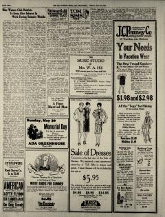 Ada Evening News, May 28, 1926, Page 2