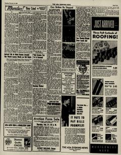 Ada Evening News, February 19, 1946, Page 3