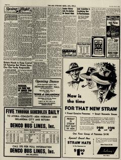 Ada Evening News, May 02, 1946, Page 4
