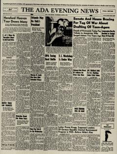 Ada Evening News, June 06, 1946, Page 1