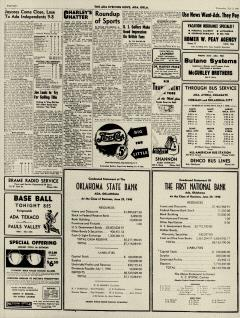 Ada Evening News, July 03, 1946, Page 8