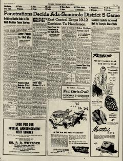 Ada Evening News, October 27, 1946, Page 9