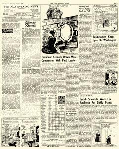 Ada Evening News, January 03, 1962, Page 3
