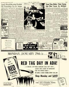 Ada Evening News, January 25, 1962, Page 11