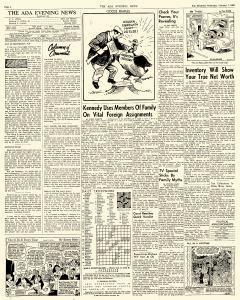 Ada Evening News, February 07, 1962, Page 4