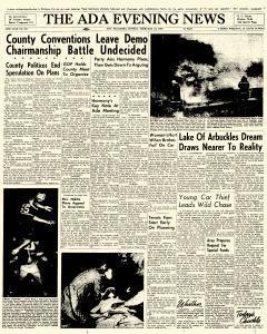 Ada Evening News, February 18, 1962, Page 1