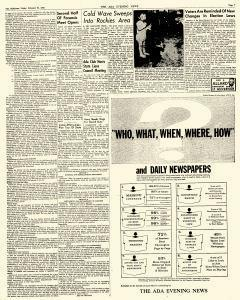 Ada Evening News, February 23, 1962, Page 7