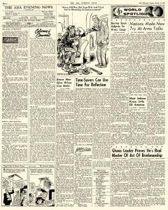 Ada Evening News, March 11, 1962, Page 4