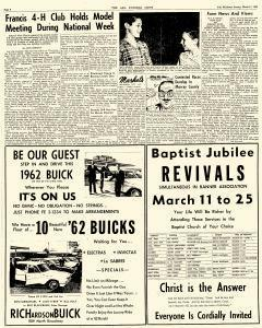 Ada Evening News, March 11, 1962, Page 6