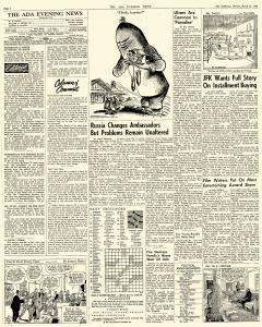 Ada Evening News, March 19, 1962, Page 4