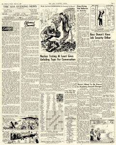 Ada Evening News, March 27, 1962, Page 3