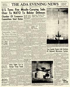 Ada Evening News, May 06, 1962, Page 1