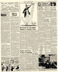 Ada Evening News, May 06, 1962, Page 4