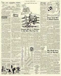 Ada Evening News, May 14, 1962, Page 4