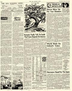 Ada Evening News, May 20, 1962, Page 4