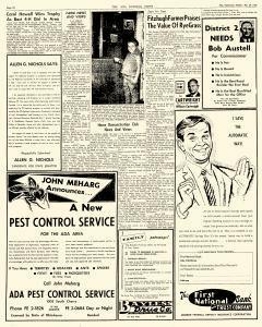 Ada Evening News, May 20, 1962, Page 10