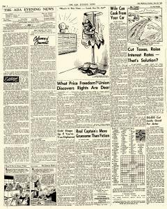 Ada Evening News, June 26, 1962, Page 4