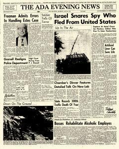 Ada Evening News, June 28, 1962, Page 1