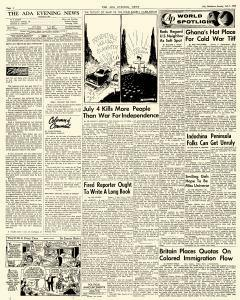 Ada Evening News, July 01, 1962, Page 4
