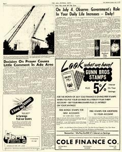 Ada Evening News, July 01, 1962, Page 6