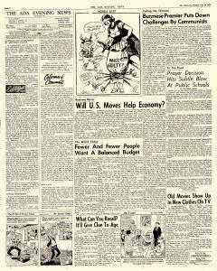 Ada Evening News, July 16, 1962, Page 4