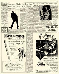 Ada Evening News, August 05, 1962, Page 18