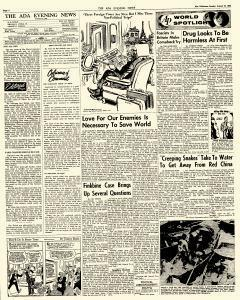 Ada Evening News, August 12, 1962, Page 4