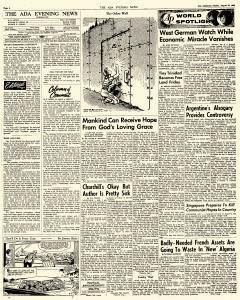 Ada Evening News, August 26, 1962, Page 4